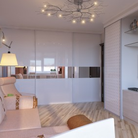 Расстановка мебели в компактной гостиной