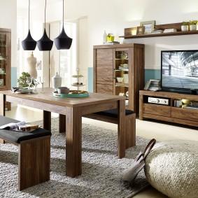 Добротная мебель из массива сосны