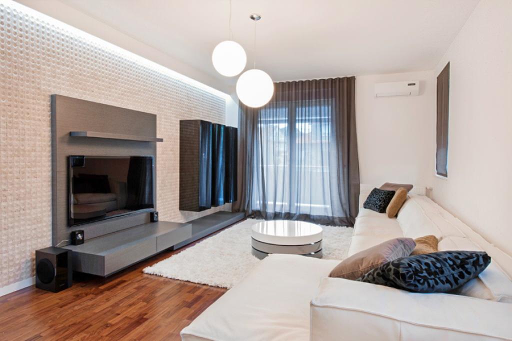 Дизайн гостиной с одним окном фото