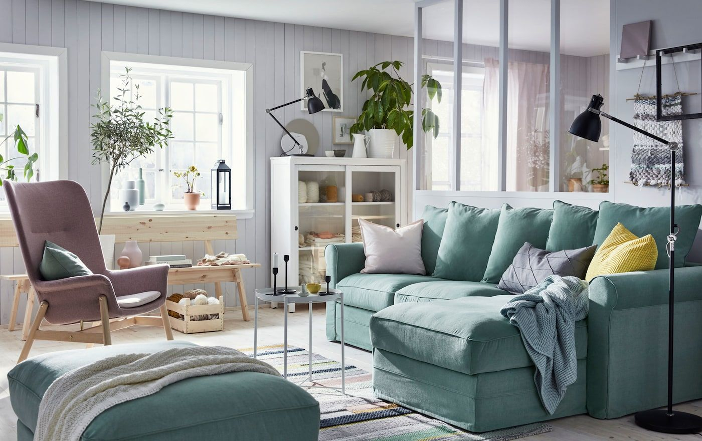 фото мебель в скандинавском стиле зима