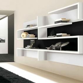 Открытые шкафы навесного типа