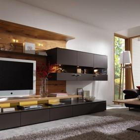 Красивая мебель в современной гостиной