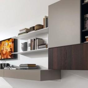 Подвесной модуль мебельной стенки