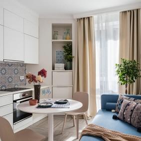 Уютная квартира студийной планировки