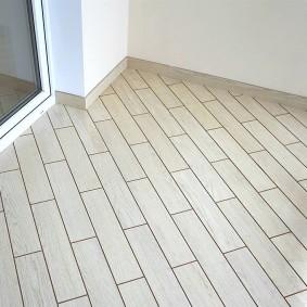 Диагональная укладка керамической плитки