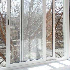 Раздвижные окна из алюминиевого профиля