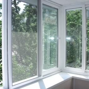 Пластиковые окна раздвижного типа