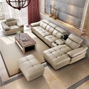 Мягкая мебель с дрогой обивкой