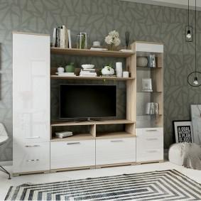Модульная мебель в маленькую гостиную