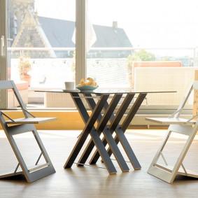 Складные стулья из тонкой фанеры