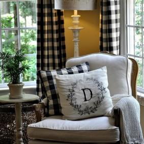 Выбор текстиля для гостиной комнаты