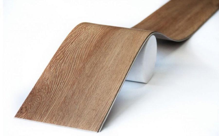 Гибкий клеевой ламинат для отделки стен