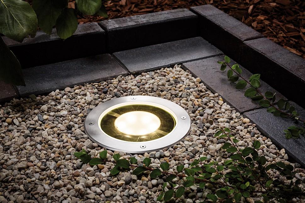 Грунтовый светильник для декоративного освещения сада