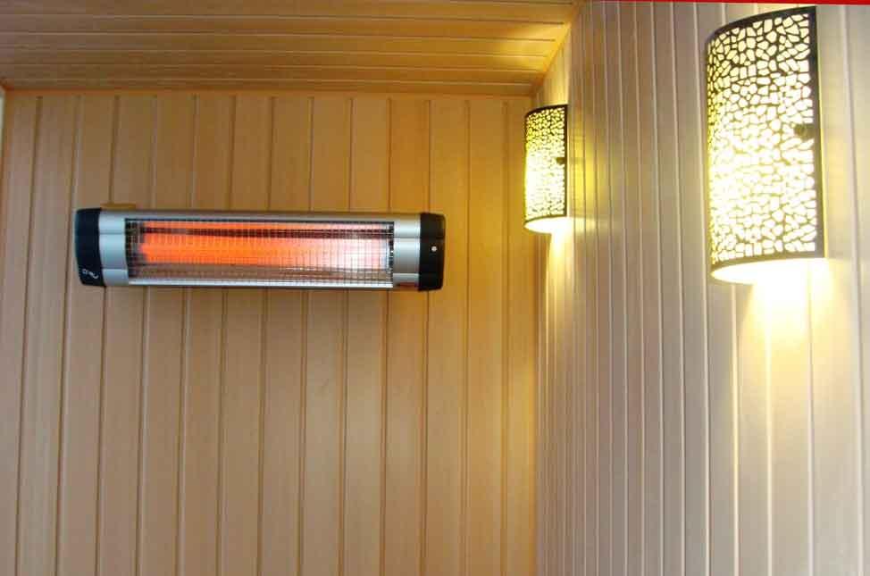 Обогрев балкона с помощью инфракрасного обогревателя