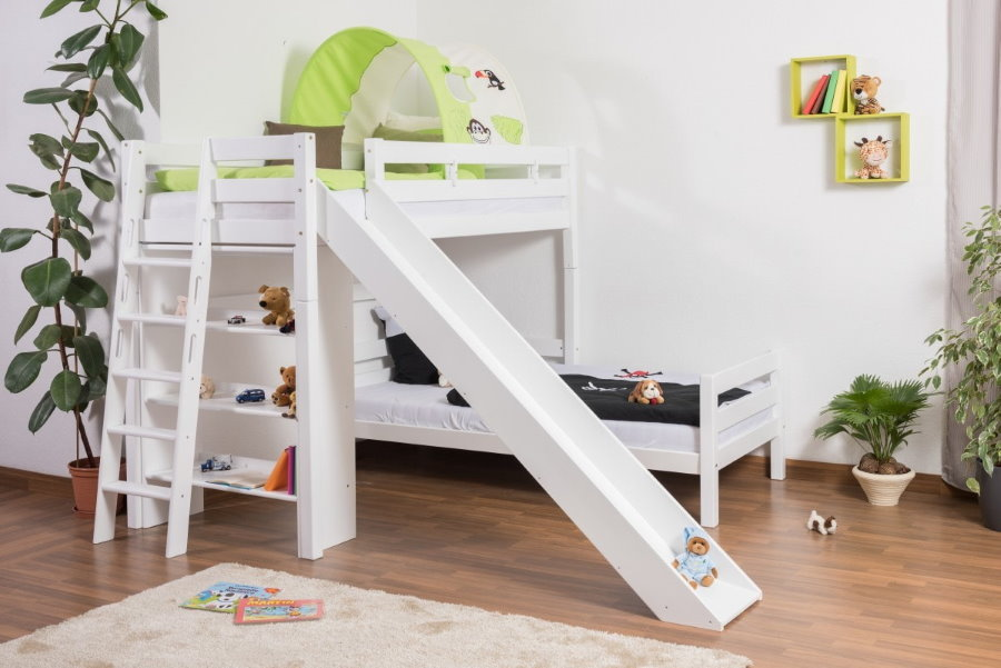 Кровать-горка с двумя спальными местами