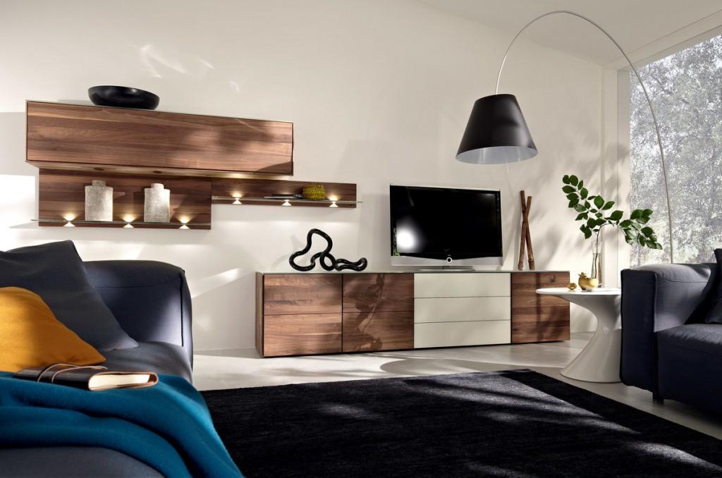 Расстановка мебели в гостиной стиля минимализма