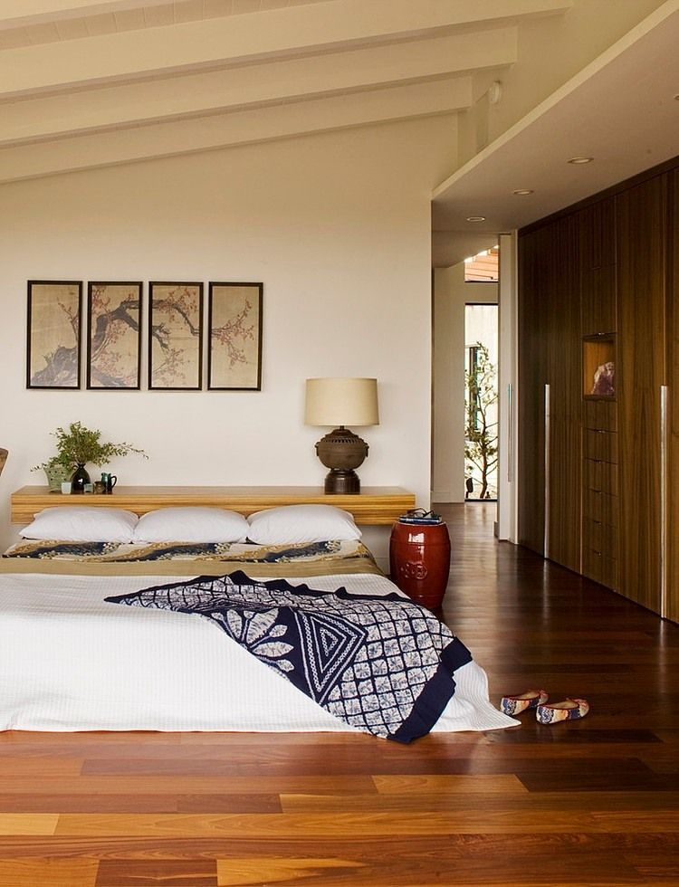 Отделка пола в комнате минималистического стиля