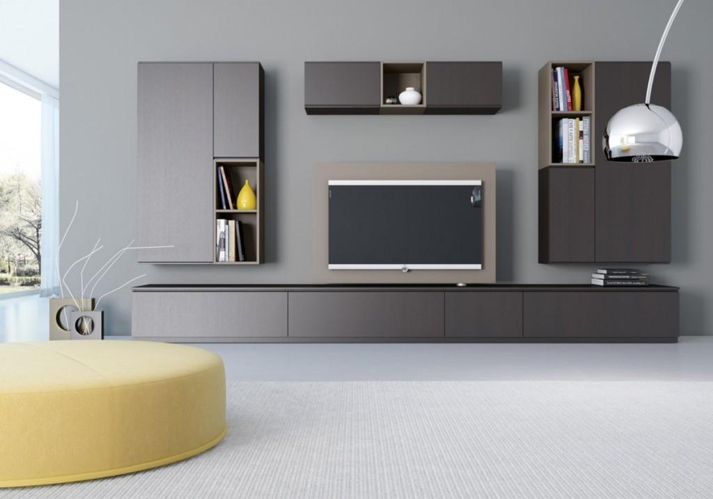 Модульный гарнитур в гостиную современного стиля