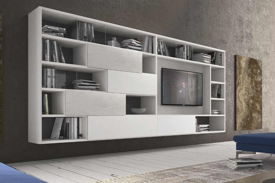 Подвесные шкафы комбинированной конструкции