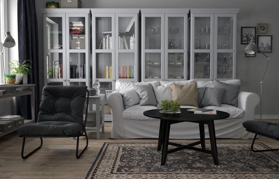 Лаконичные модели шкафов в гостиную комнату