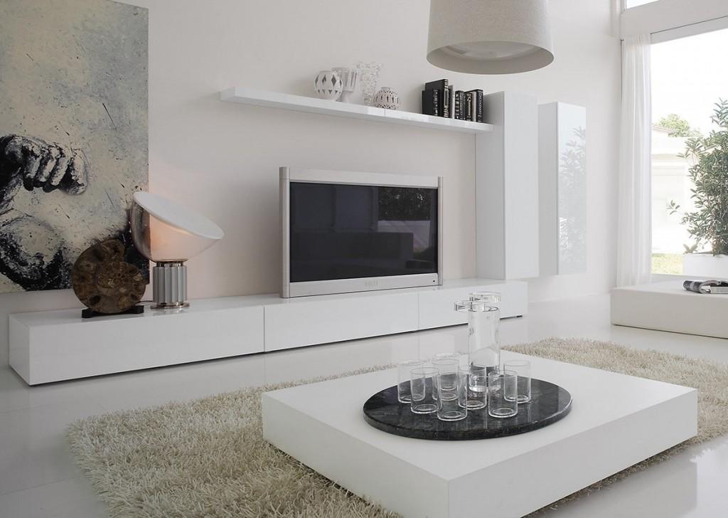 Лаконичная модель стенки в стиле минимализма