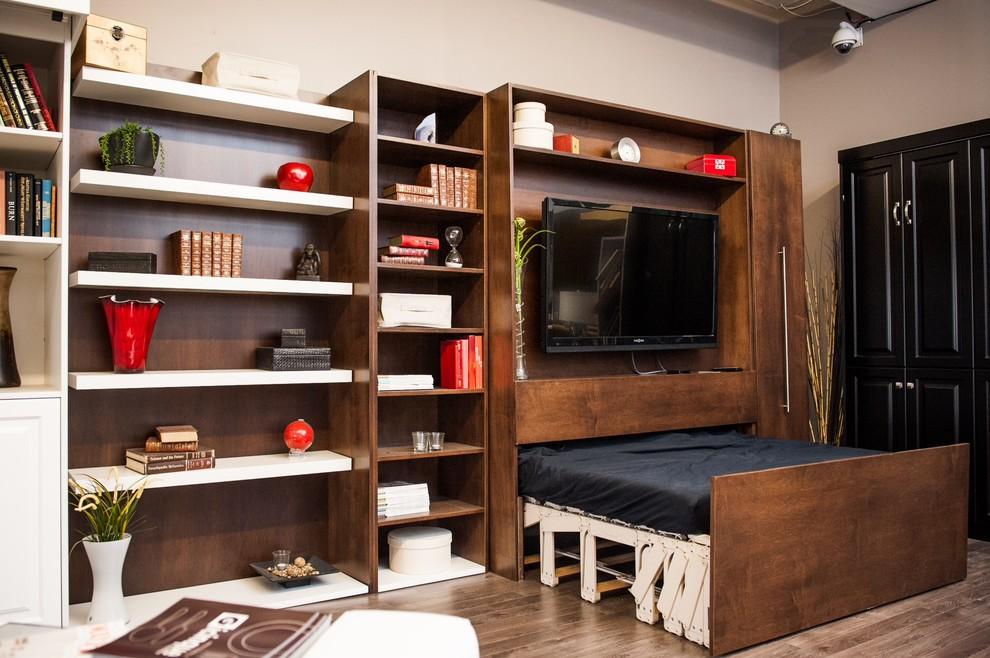 Трансформирующаяся мебель в квартире скромных размеров