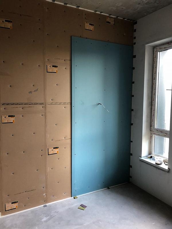 Бескаркасная шумоизоляция бетонной стены в квартире