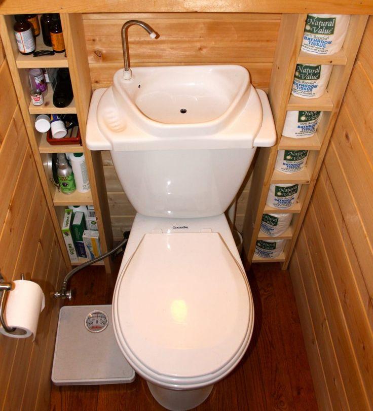 Обшивка стен туалета деревянной вагонкой