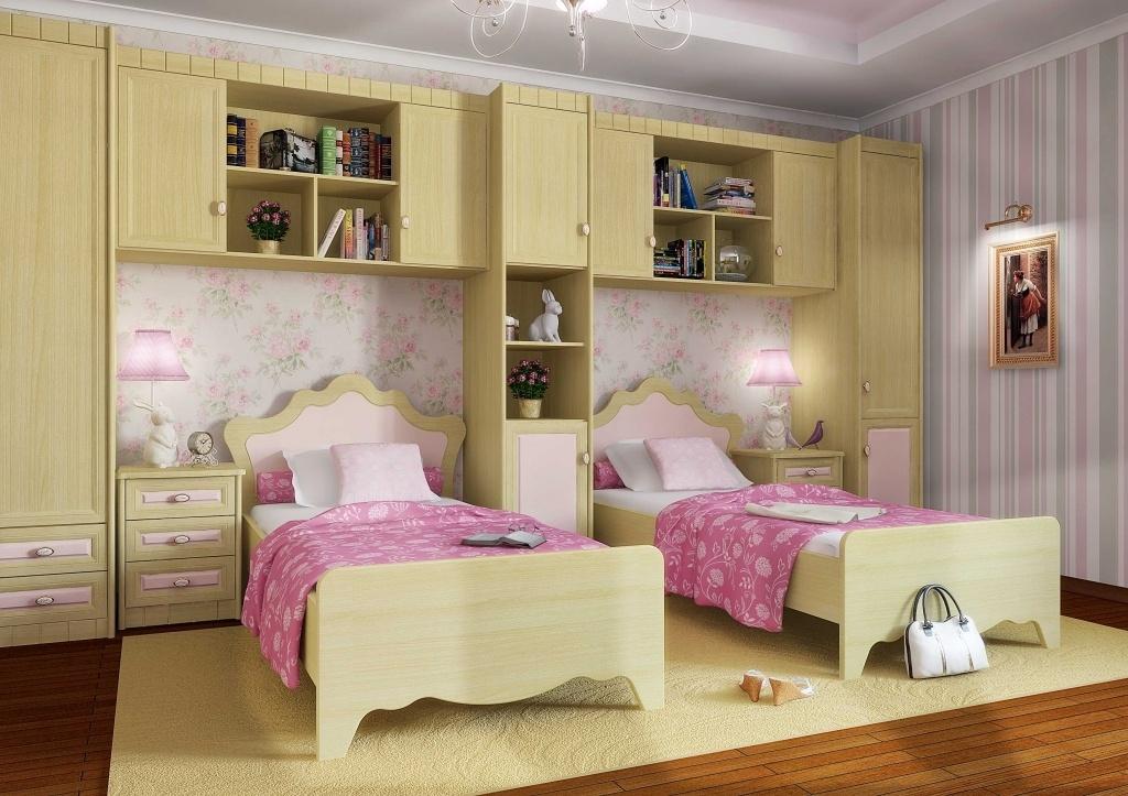 Оформление детской комнаты в доме панельного типа