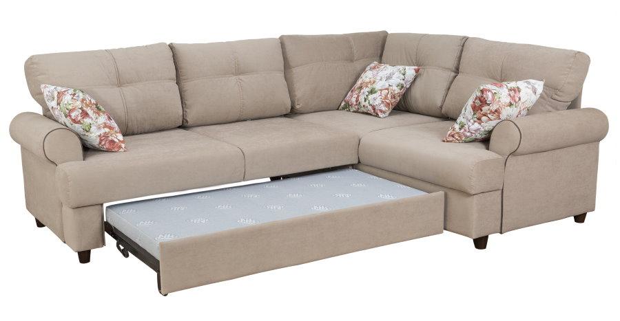Раскладной диван угловой формы для гостиной