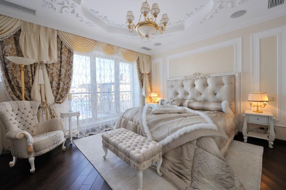 Оформление спальной комнаты в классическом стиле