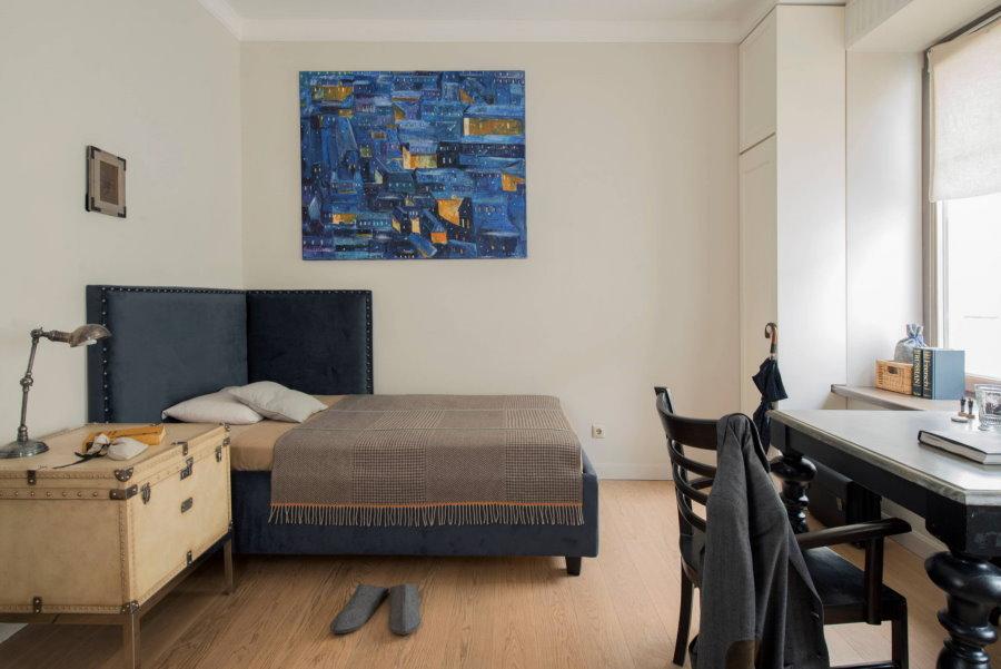 Интересная мебель в спальне необычного дизайна