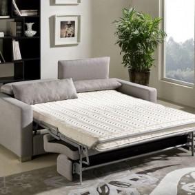 Дополнительное спальное место для гостиной комнаты