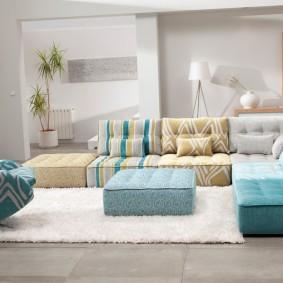 Мягкая мебель модульного типа