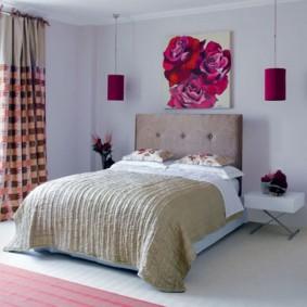 Декор спальной комнаты для девушки