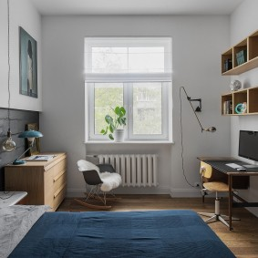 Детская спальня в квартире сталинского дома