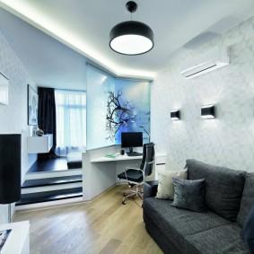Дизайн квартиры в стиле хай-тек