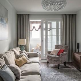 Меблировка небольшой гостиной в квартире