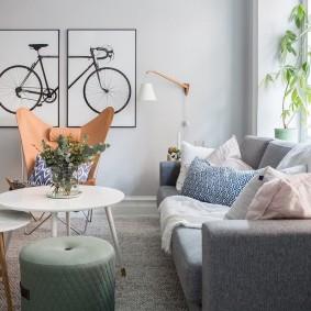 Модульные картины в дизайне квартиры