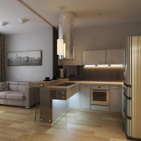Декоративная подсветка в интерьере квартиры