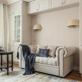 Встроенная мебель в квартире типовой планировки
