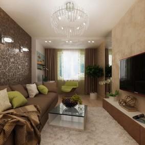 Коричневая мебель в современном стиле