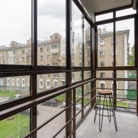 Панорамные окна из алюминиевого профиля