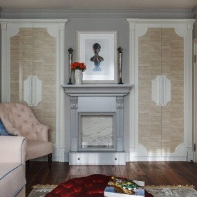 Встроенные шкафы с красивыми фасадами