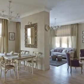 Классический интерьер квартиры в новом доме
