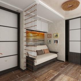 Дизайн небольшой гостиной в хрущевке панельного дома