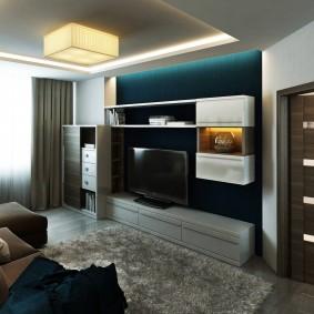 Модульная мебель в малогабаритной квартире