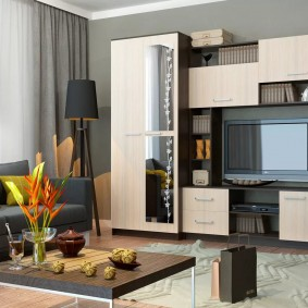 Лаконичная мебель для гостиной комнаты