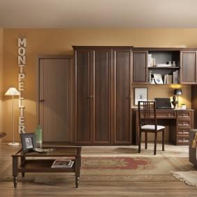 Дизайн гостиной комнаты с бюджетной мебелью
