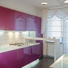 Подсветка кухонного фартука светодиодной лентой
